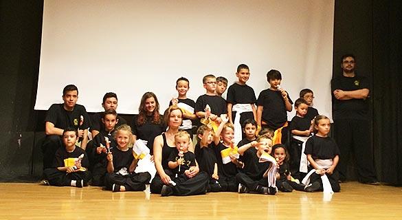 Gala Fin de Curso 2015 - Alumnos de Kung Fu