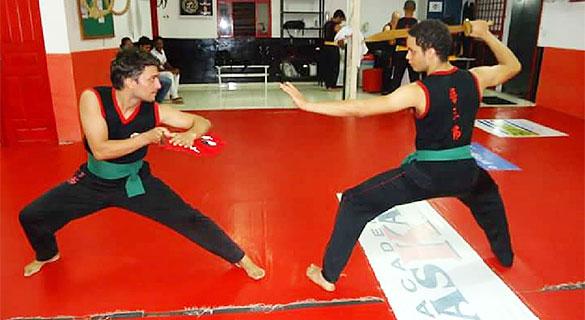 Nuestros hermanos de Imperatriz (Brasil) - Entrenamiento 4