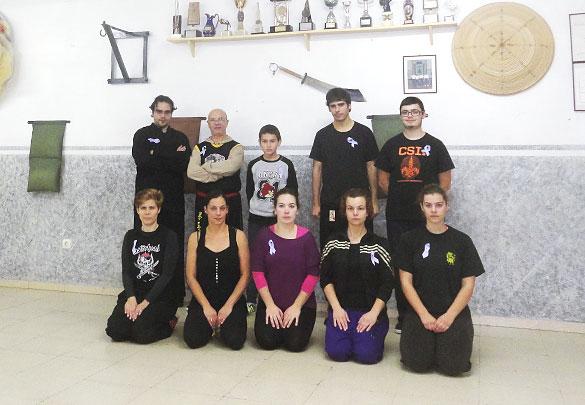 25N Taller de Defensa Personal - Asistentes al taller