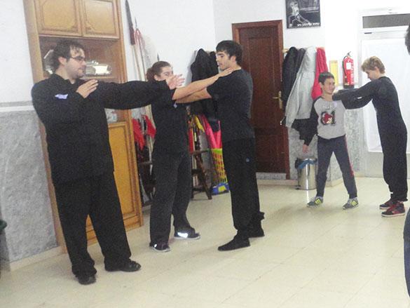 25N Taller de Defensa Personal - Momento del taller 4
