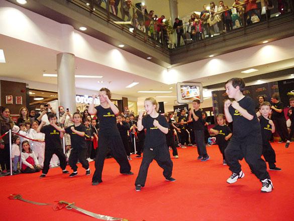 Exhibición Estreno Kung Fu Panda 3 - Momento de la Exhibición 2