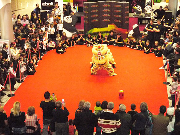 Exhibición Estreno Kung Fu Panda 3 - Momento de la Exhibición 4
