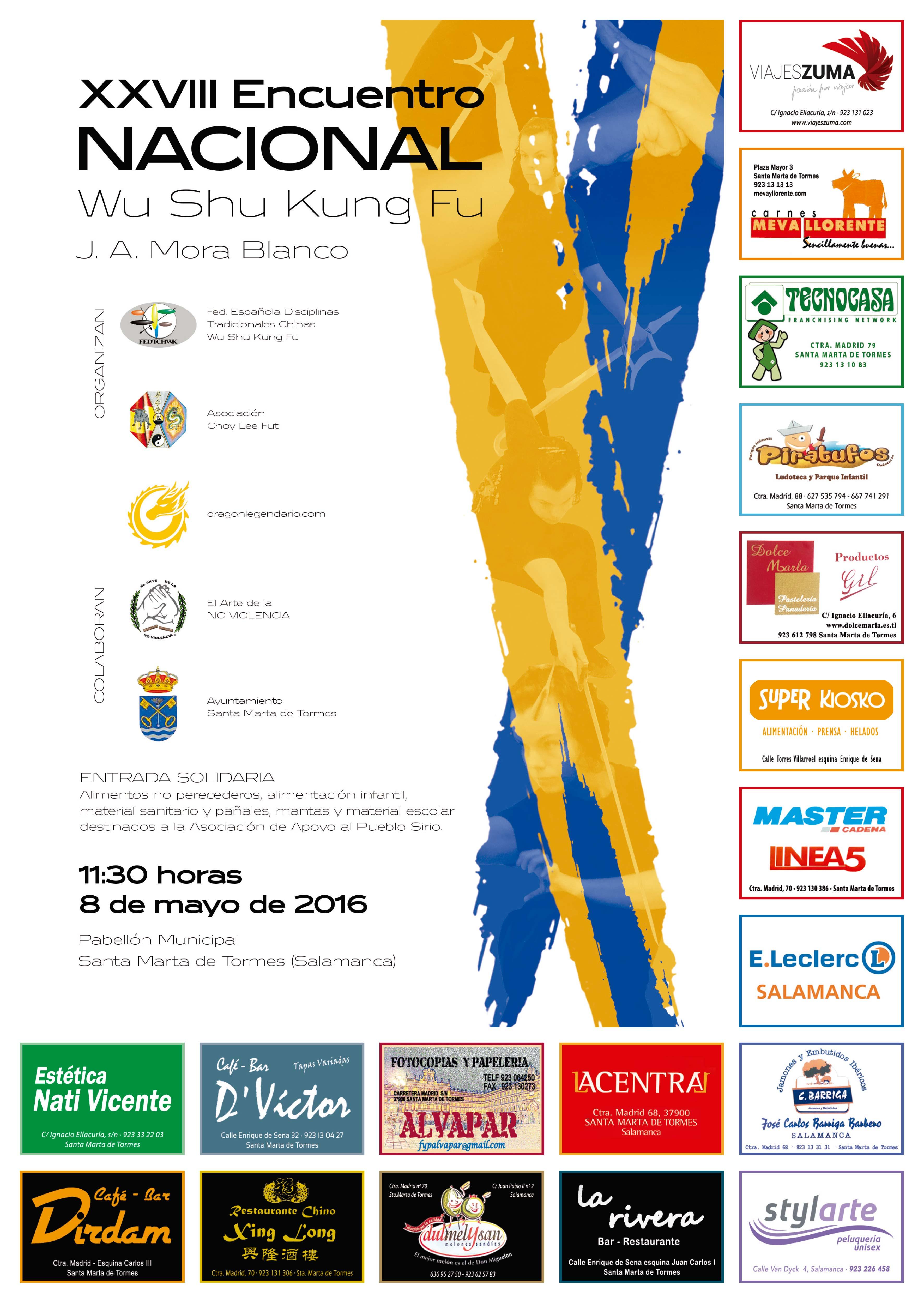 Encuentro Nacional 2016 - Cartel Encuentro Nacional 2016