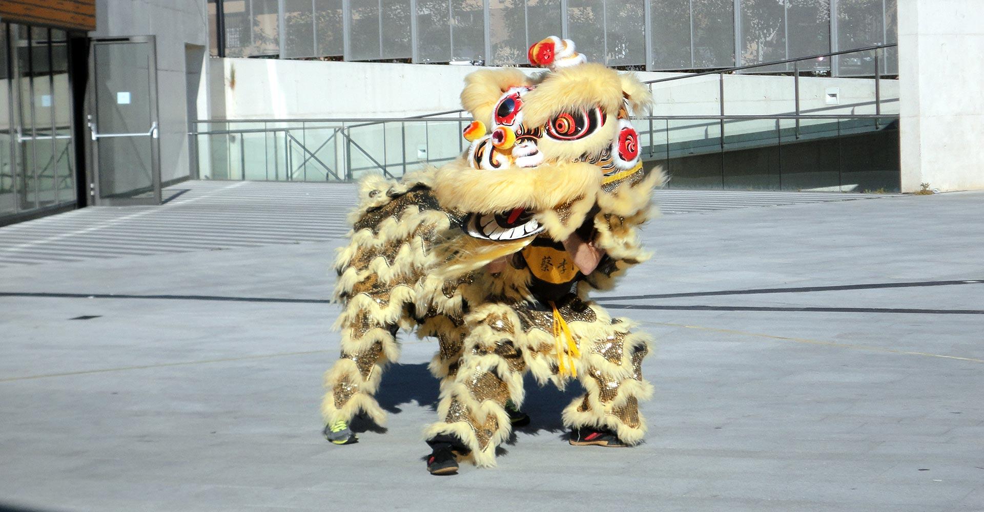Danza del León - Momento de la Danza del León
