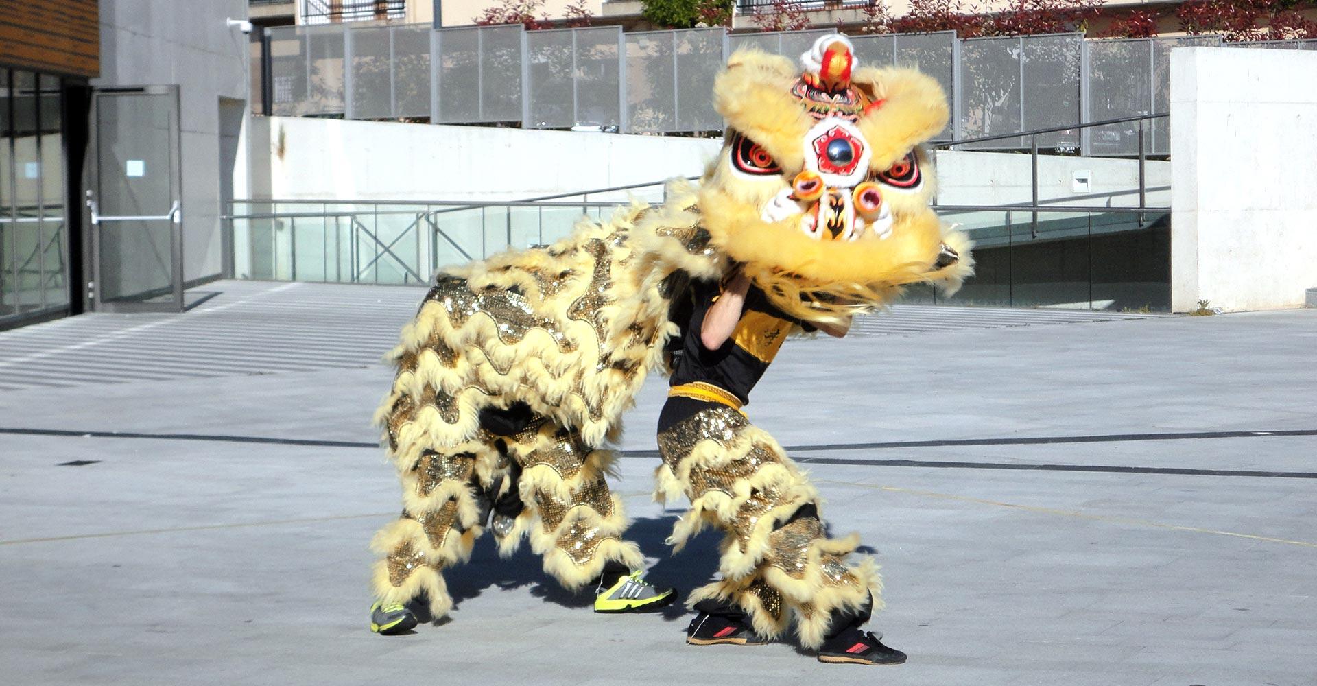 Danza del León - Otro momento durante la Danza