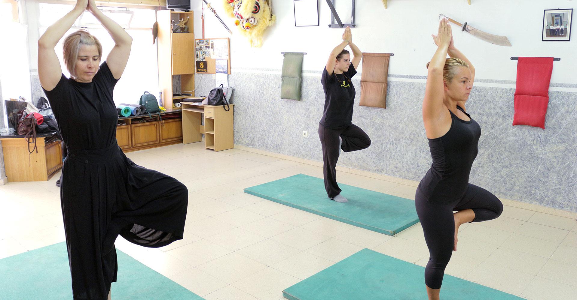 Hatha Yoga - Posición del Árbol