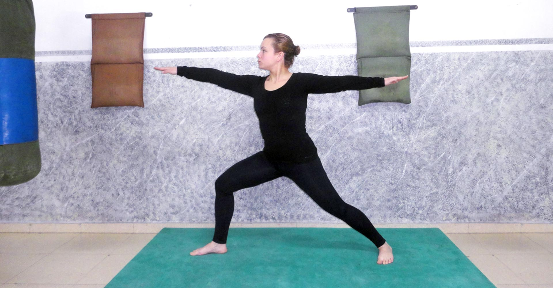 Hatha Yoga - Posición del Guerrero
